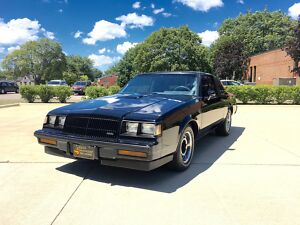 1987 Buick Grand National 31K MILES - STUNNING 1987 BUICK GRAND NATIONAL - 31K MILES - HIGH DOLLAR RESTORATION ON LOW MILE CAR300
