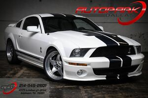 2007 Ford Mustang Shelby GT500 2007 White Shelby GT500!300