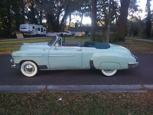 1950 Chevrolet Bel Air/150/210  1950 Chevrolet Styleline Convertible Restored300