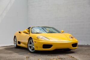 2003 Ferrari 360 6 Speed Manual 2003 Ferrari 360 Spider, 6 Speed Manual 5,000 Original Miles, Collector Quality300