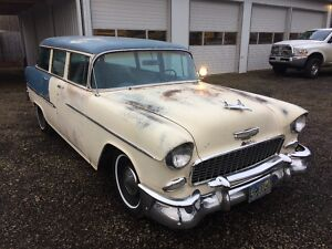 1955 Chevrolet Bel Air/150/210  1955 Chevy Belair wagon300