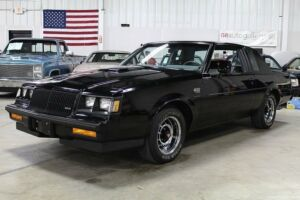 1987 Buick Grand National -- 1987 Buick Grand National  29226 Miles Black Coupe 3.8 V6 Turbo Automatic300