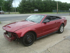 2007 Ford Mustang ONLY 67K MILES! V6 Convertible Salvage Rebuildable Ford Mustang Convertible ONLY 67K Salvage Rebuildable Repairable Wrecked Damaged300