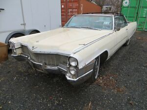 1965 Cadillac DeVille  1965 Cadillac DeVille Convertible white  PLUS  access to parts car here if need300