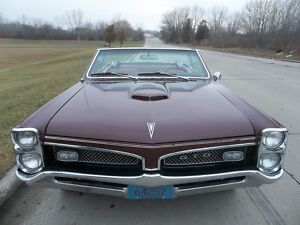 1967 Pontiac GTO Convertible with Factory Hurst Dual-Gate Shifter 1967 Pontiac GTO Convertible300