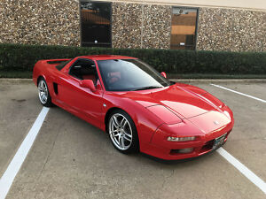1980 Acura NSX  1990 JDM HONDA NSX (ACURA NSX) JAPAN IMPORT VERY RARE COUPE RED/BLACK AUTO CLEAN300