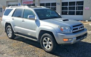 2005 Toyota 4Runner  2005 Toyota 4Runner Sport 4x4 4wd V8 loaded 4 runner suv tow pkg moonroof JBL300