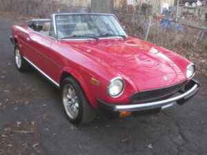 1979 Fiat 124 Spider  1979 Fiat 124 Spider classic import sports car300
