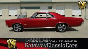 1966 Pontiac GTO -- 1966 Pontiac GTO  0 Candy Apple Red 2 Door 400 CID V8 T400 4-Speed W/OD300