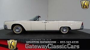 1964 Lincoln Continental -- 1964 Lincoln Continental  44183 Miles Wonderful White Convertible 430 CID V8 3-S300