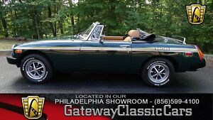 1979 MG MGB -- 1979 MG MGB  78107 Miles Green Convertible 1.8L I4 4-Speed Manual300