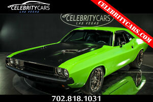 1970 Dodge Challenger 1000HP Supercharged 472 Hemi 1000HP Supercharged 472 Hemi 1970 Dodge Challenger Sublime Green Wrap 472 HEMI 1300