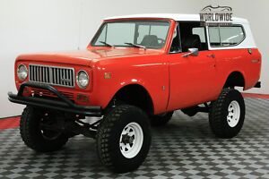 1974 International Harvester Scout LIFTED V8 AUTO CONVERTIBLE! CALL 1-877-422-2940! FINANCING! WORLD WIDE SHIPPING. CONSIGNMENT. TRADES. FORD300