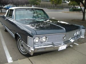 1968 Chrysler Imperial Blue 1968  chrysler  Imperial  CONVERTIBLE300