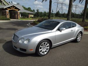 2005 Bentley Continental GT  2005 Bentley Continental Gt Coupe Only 49 k miles 1 owner palm beach car300