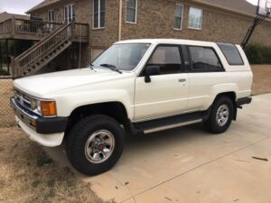 1987 Toyota 4Runner SR5 1987 Toyota 4runner. Rare find and in great condition!!!300
