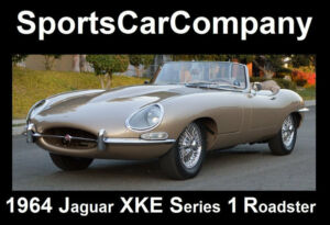 1964 Jaguar E-Type XKE SERIES 1 ROADSTER 1964 JAGUAR XKE SERIES 1 ROADSTER EXPERT ROTISSERIE RESTORATION BEST IN SHOW !300