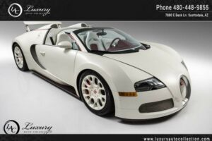 2011 Bugatti Veyron Grand Sport | Fresh Service | New Tires | New Whee 2011 Bugatti Veyron Grand Sport | Fresh Service | New Tires | New Whee Satin Whi300