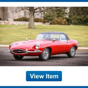 1967 Jaguar E-Type 1.25 1967 Jaguar E-Type 1 Owner XKE OTS Series 1 1.25 Convertible Matching Numbers!300