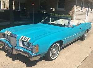 1973 Mercury Cougar XR-7 1973 Mercury Cougar 2 Door Luxury Convertible 351C 2V Cleveland V-8 Engine300