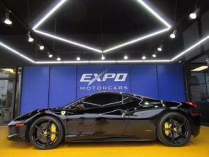 2011 Ferrari 458 Base Coupe 2-Door Ferrari 458 Italia Coupe Heated Seats 20s Leather300