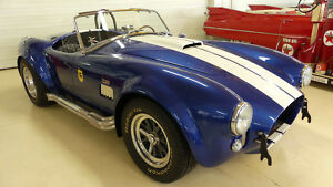 1965 Shelby Cobra -- 1965 Shelby Cobra  5905 Miles Blue 2 DR Convertible 351 Windsor Manual 5-Speed300