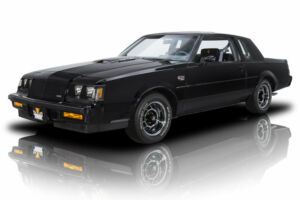 1987 Buick Grand National -- 1987 Buick Grand National  1629 Miles Black Coupe 3.8 V6 Turbo 4 Speed Automatic300