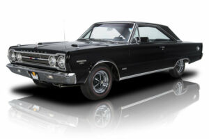 1967 Plymouth GTX -- 1967 Plymouth GTX  21561 Miles Black Hardtop 426 HEMI V8 4 Speed Manual300