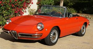 1969 Alfa Romeo Other  Very correct, great running, PF 'round tail' spider.300