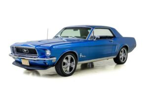 1968 Ford Mustang -- 1968 Ford Mustang  95408 Miles Lamborghini Blue Coupe 5.0 Liter 3-Spd Auto300