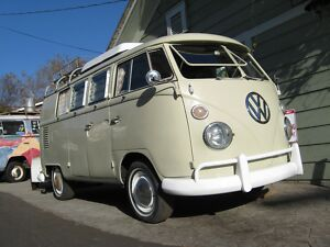 1967 Volkswagen Bus/Vanagon Westfalia 67 VW bus Wesfalia Camp-mobile,300