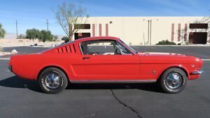 1965 Ford Mustang FASTBACK 2+2 A CODE 289 CALIFORNIA CAR! DISC BRAKE 1965 FORD MUSTANG FASTBACK 2+2 A CODE 289 CALIFORNIA CAR! DISC BRAKE300