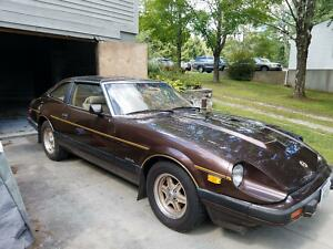 1982 Datsun Z-Series  1982 Datsun 280 ZX 2+2 Special Edition Gold Package300