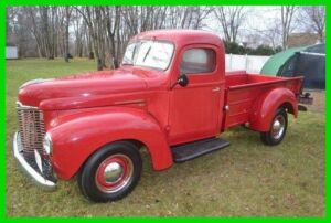 1949 International Harvester Pickup Truck 1949 International Pickup Truck Rebuilt 214 Green Diamond Flat 6 4-Speed 2WD300