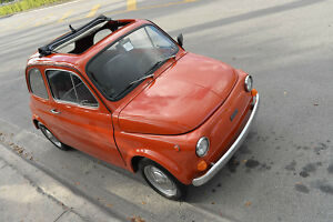 1967 Fiat 500 Ragtop SEE VIDEO!! 1967 Fiat 500 ragtop micro car similar to 600 jolly austin mini kit morris mg300