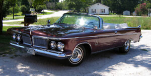 1962 Chrysler Imperial  1962 Imperial Crown Convertible300