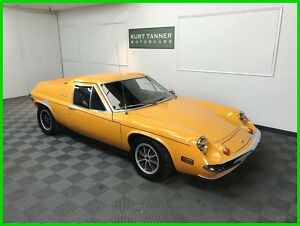 1972 Lotus Europa Twin Cam Big Valve 1972 LOTUS EUROPA TWIN CAM, BIG VALVE. 4-SPEED. ALLOYS. DRIVER. 46,717 MILES.300