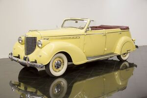 1938 Chrysler Imperial Eight Convertible Sedan 1938 Chrysler Imperial Eight Convertible Sedan300
