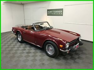 1974 Triumph TR-6 Roadster 1974 TRIUMPH TR-6 CONVERTIBLE. 96,994 MILES. EXCELLENT RUNNING, DRIVING CAR.300