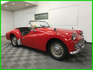 1958 Triumph TR3 4-SPEED WITH OVERDRIVE GEARBOX 1958 TRIUMPH TR3A SPORTS ROADSTER. NICE RUNNING, DRIVING CAR FOR IMPROVEMENT300