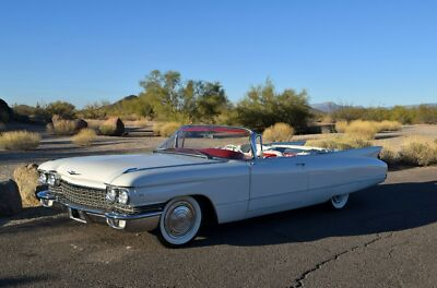 1960 Cadillac Deville Series 62 Convertible 1960 Cadillac Series 62 Convertible - Fresh Paint, Interior, & Top - NICE Driver400