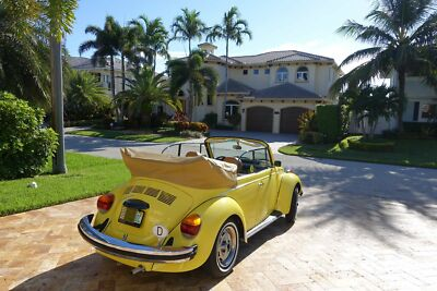 1979 Volkswagen Beetle - Classic karmann 1979 VOLKSWAGEM SUPER BEETLE CONVERTIBLE IMMACULATE CONDITIONS400