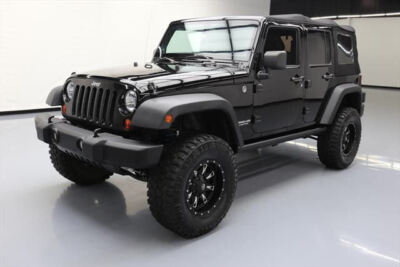 2013 Jeep Wrangler Unlimited Rubicon Sport Utility 4-Door 2013 JEEP WRANGLER UNLTD RUBICON 4X4 6-SPEED LIFTED 61K #646914 Texas Direct400