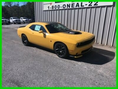 2018 Dodge Challenger R/T 392 2018 R/T 392 New 6.4L V8 16V Manual RWD Coupe Premium400