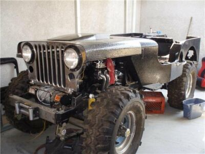 1951 Willys Model 38 Truck M-38 1951 M-38 jeep frame-off restoration project 90% complete. 98% parts complete400