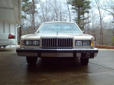 1986 Mercury Grand Marquis LS 1986 Mercury Grand Marquis LS 93000 original miles400