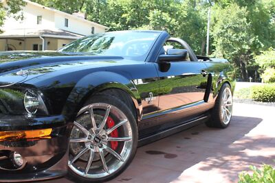 2007 Ford Mustang GT500 Super Snake 2007 Ford Mustang GT500 Shelby Super Snake Convertible Supercharged 6 SPD 11K400