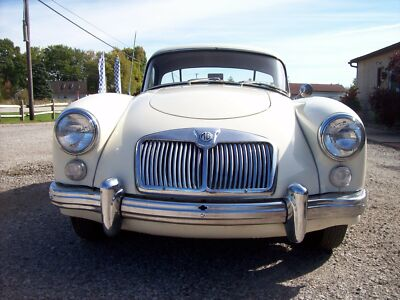 1961 MG MGA 2 DOOR 1961 MGA COUPE. 1600   EXCELLENT CONDITION400