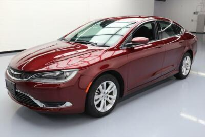 2015 Chrysler 200 Series  2015 CHRYSLER 200 LIMITED BLUETOOTH ALLOY WHEELS 34K MI #566672 Texas Direct400
