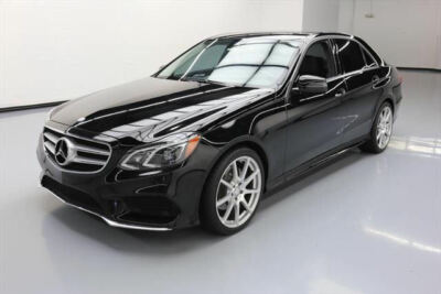 2014 Mercedes-Benz E-Class Base Sedan 4-Door 2014 MERCEDES-BENZ E350 P1 SPORT SUNROOF NAV 19'S 53K #898583 Texas Direct Auto400